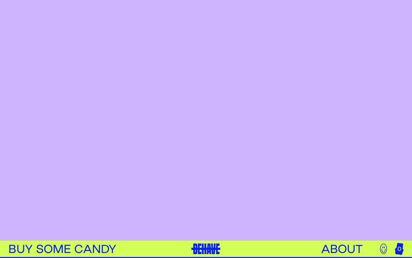 Screenshot of Behave website