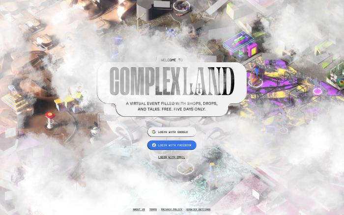 Screenshot of ComplexLand 2020