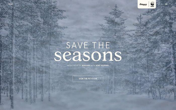 Screenshot of Save the Seasons