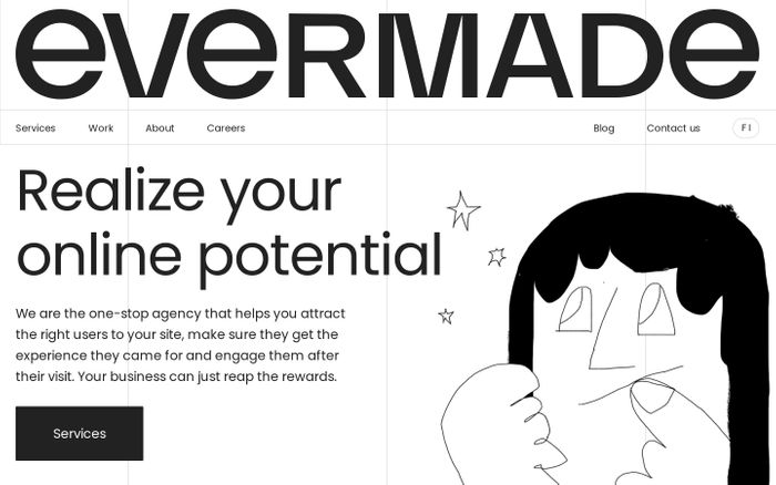 Screenshot of Evermade