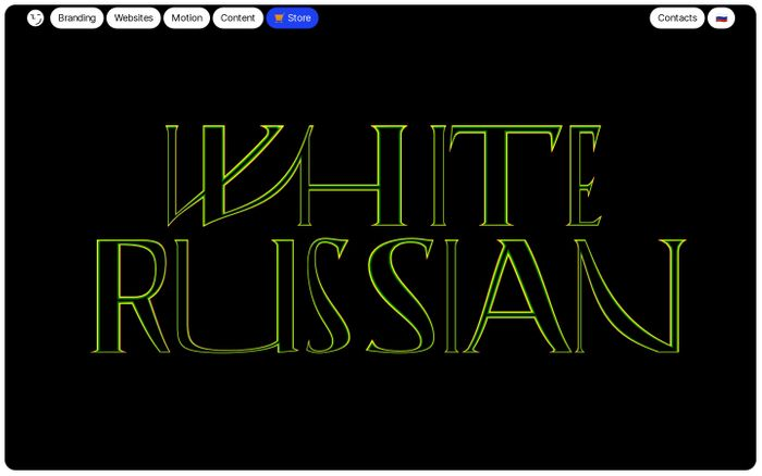 Screenshot of White Russian