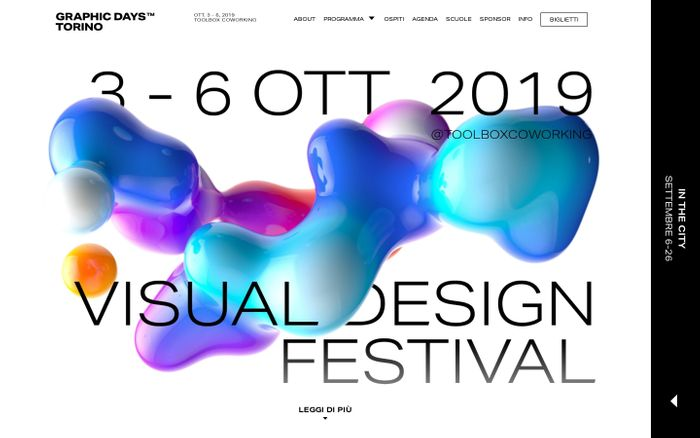 Screenshot of Graphic Days Torino 2019 | Graphic Days Torino