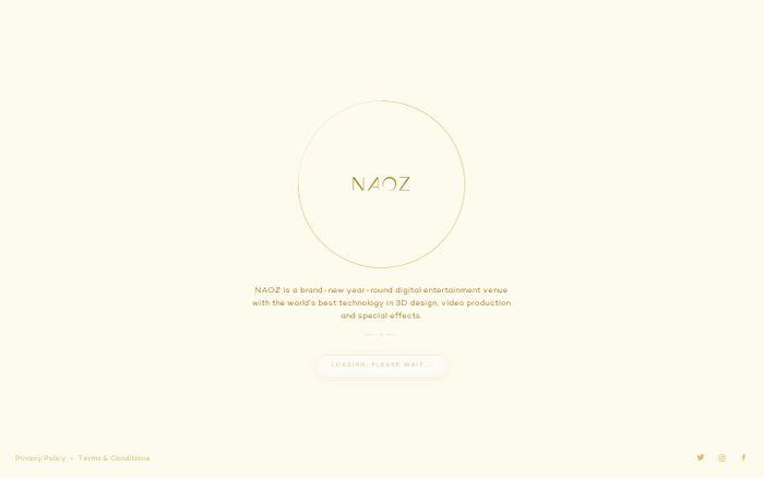 Screenshot of Naoz   Digital World of Entertainment