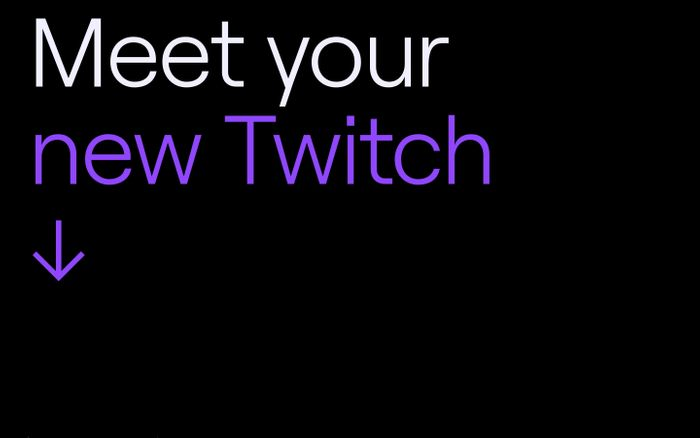 Screenshot of Meet your new Twitch | Twitch Brand