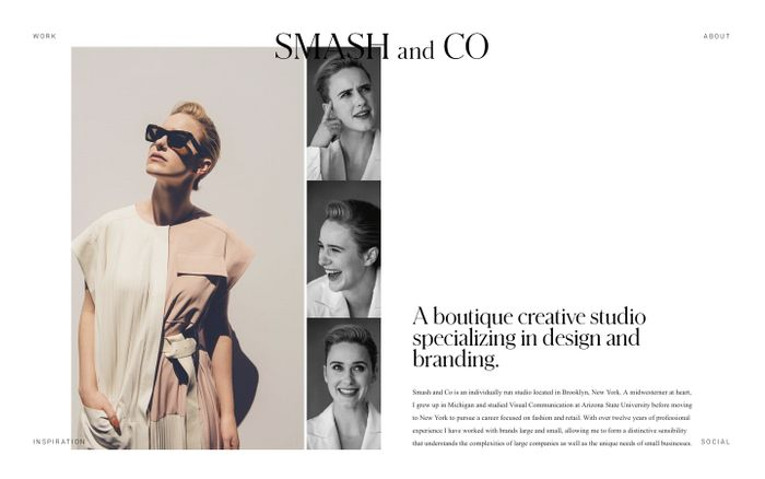 Screenshot of Smash And Co Creative – Portfolio