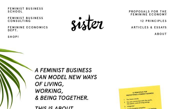 Screenshot of Sister