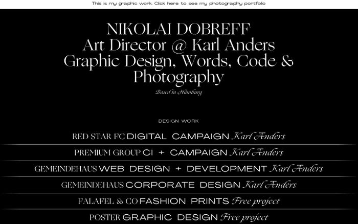 Screenshot of Nikolai Dobreff