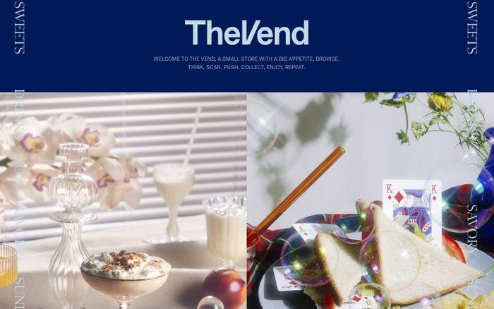 Screenshot of Vend