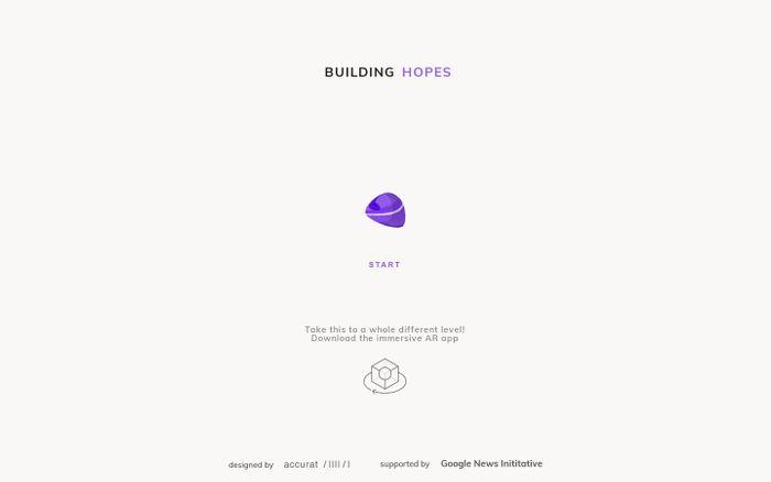 Screenshot of Building Hopes