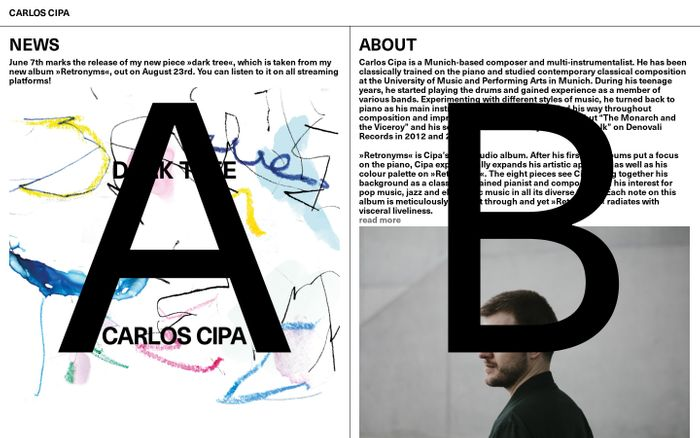 Screenshot of Carlos Cipa