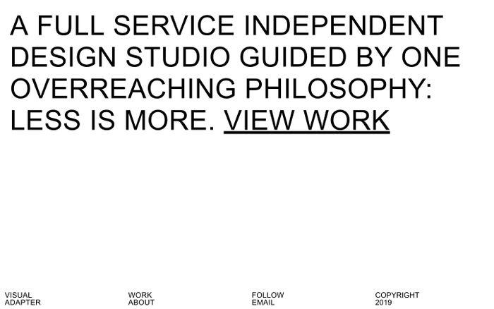 Screenshot of Visual Adapter