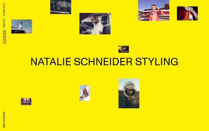 Screenshot of Natalie Schneider Styling