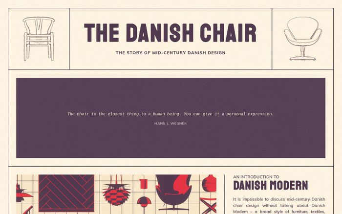 Screenshot of The Danish Chair