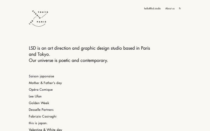 Screenshot of LSD Studio Paris-Tokyo