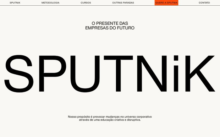Screenshot of SPUTNiK