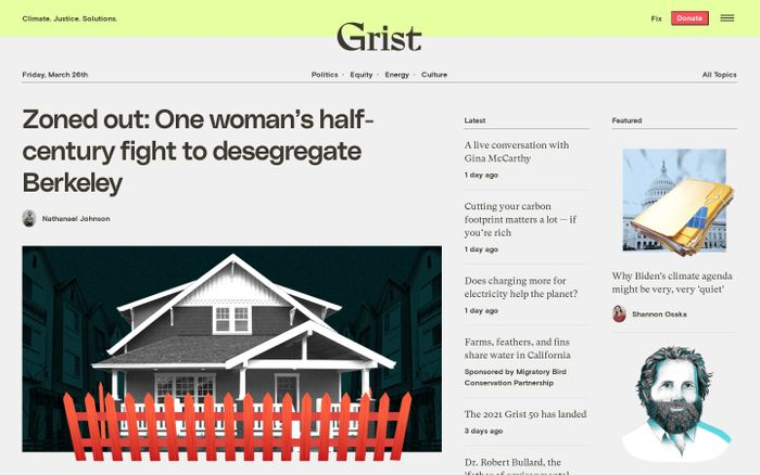 Screenshot of Grist