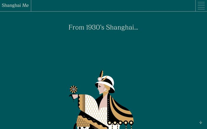 Screenshot of ShanghaiMe website