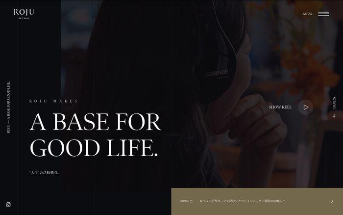 Screenshot of Roju — Roju makes a Base for Good Life.