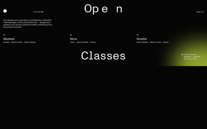 Screenshot of Open