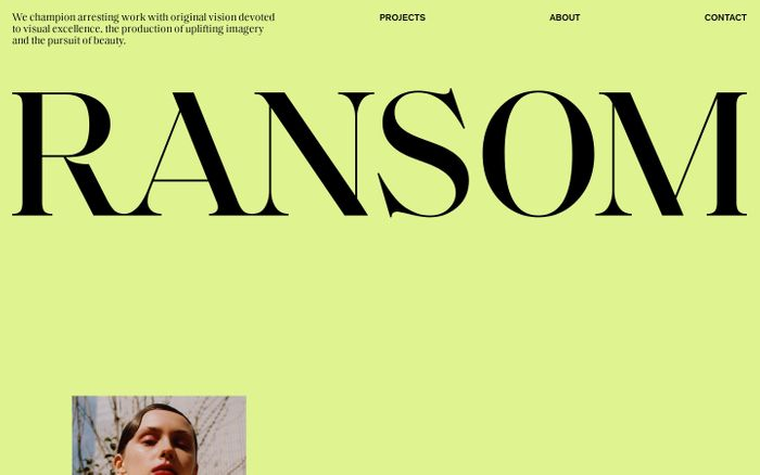 Screenshot of Ransom Ltd