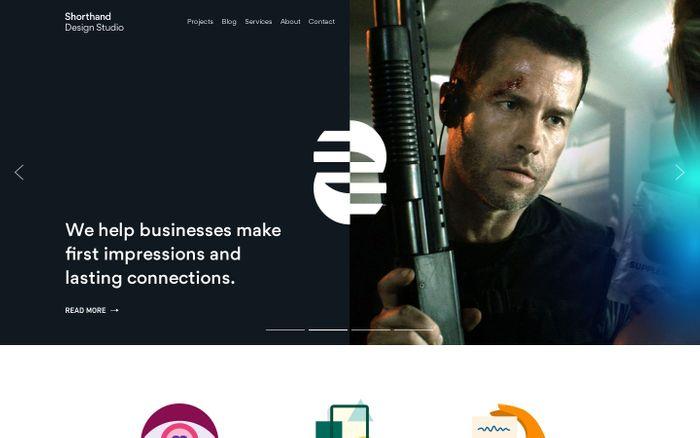 Screenshot of Creative Branding & Graphic Design Studio Newcastle - Shorthand Studio — Shorthand Studio