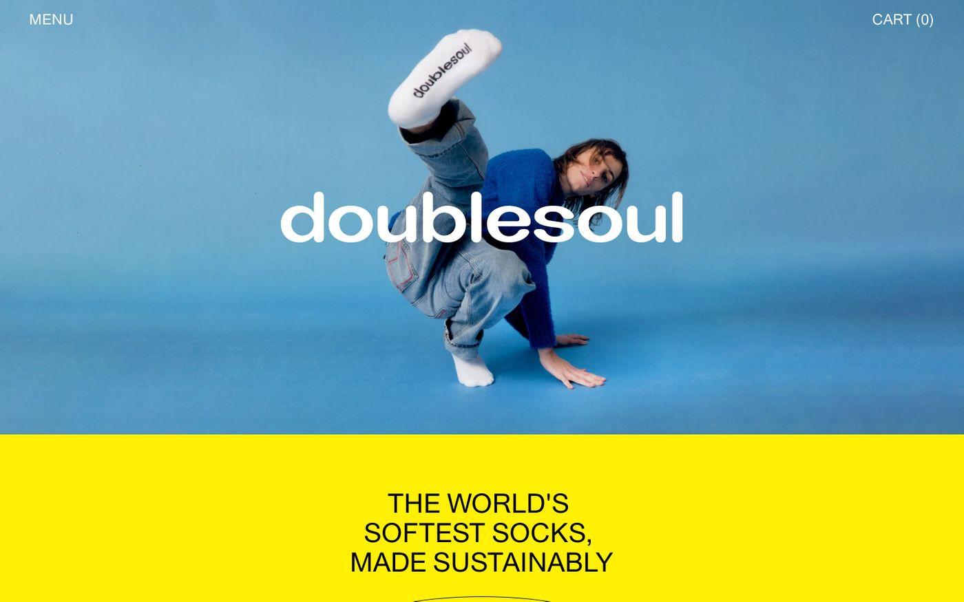 Screenshot of Doublesoul website