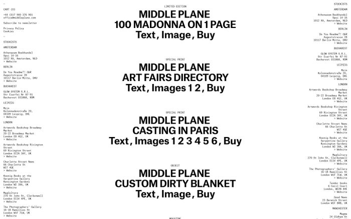 Screenshot of MIDDLE PLANE