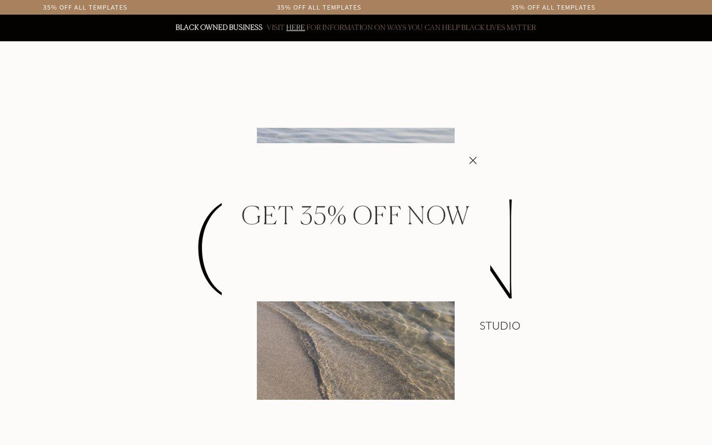 Screenshot of GLDN Studio website