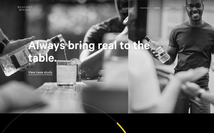 Screenshot of Ready Set Rocket | NYC Digital Agency