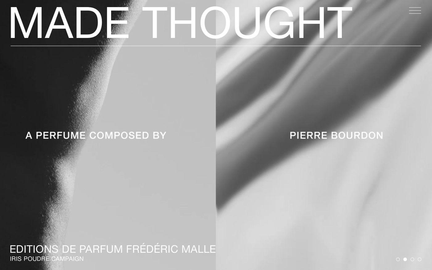 Screenshot of Made Thought website