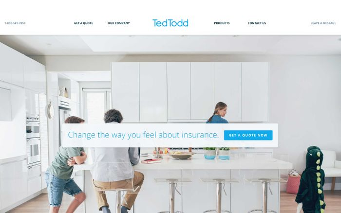 Screenshot of Ted Todd Insurance