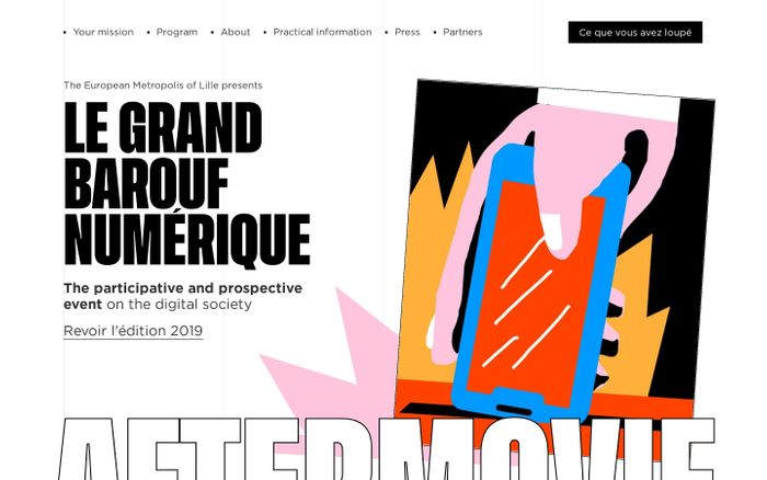 Screenshot of Le Grand Barouf NUMERIQUE