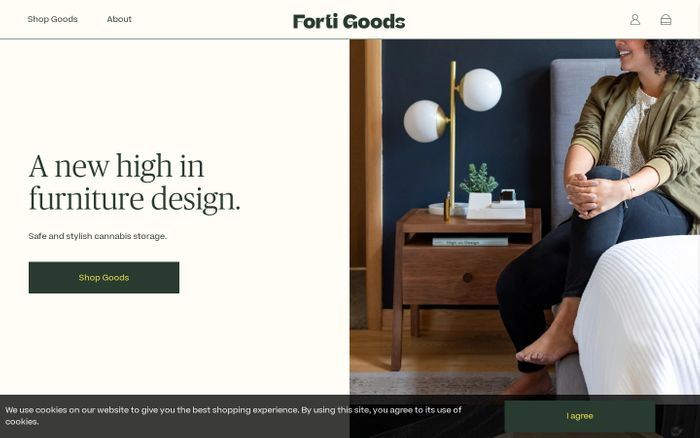 Screenshot of Forti Goods