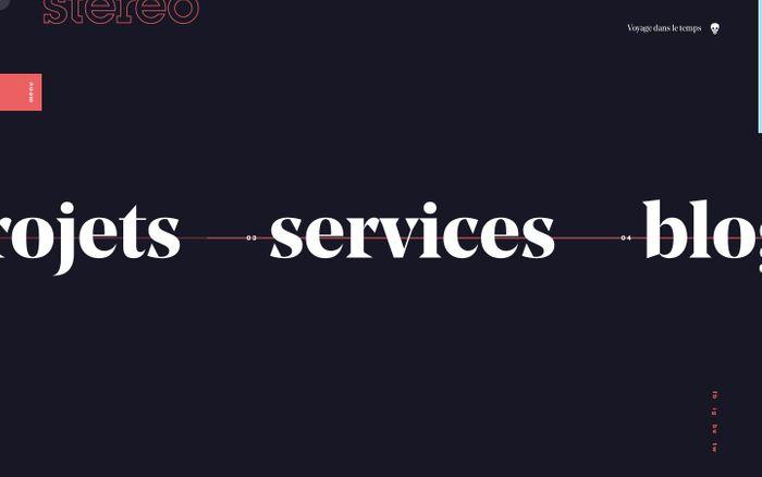 Screenshot of Agence de création de site Web et d'application numérique.