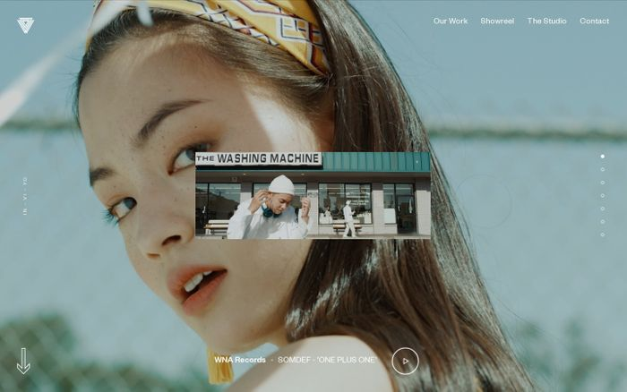 Screenshot of GDW - A Seoul-based creative content production agency