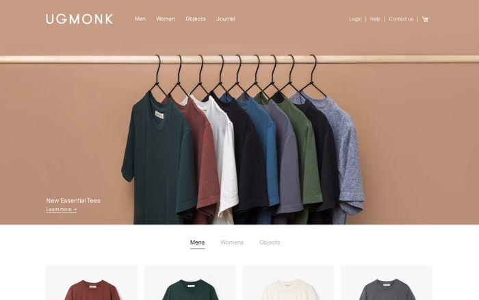 Screenshot of Ugmonk