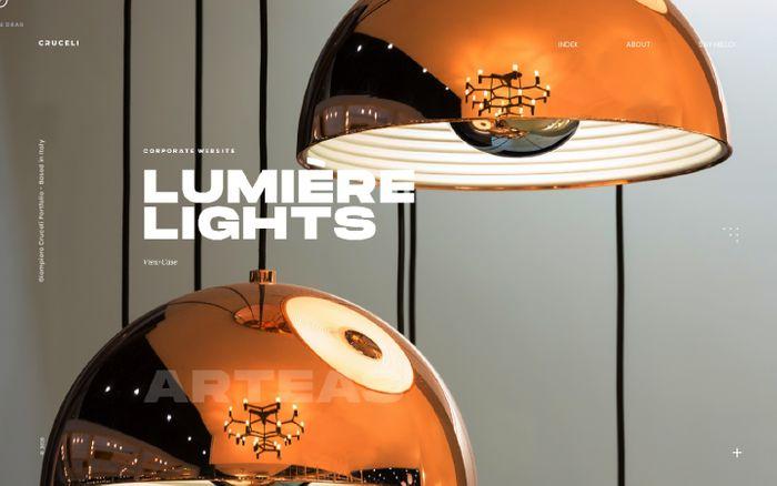 Screenshot of Giampiero Cruceli - Digital Art Director / Designer