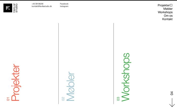 Screenshot of Favilla Studio - Sustainable design solutions