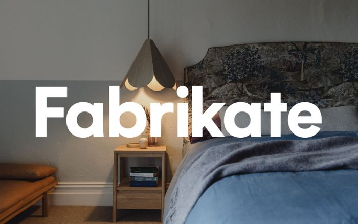 Screenshot of Fabrikate website