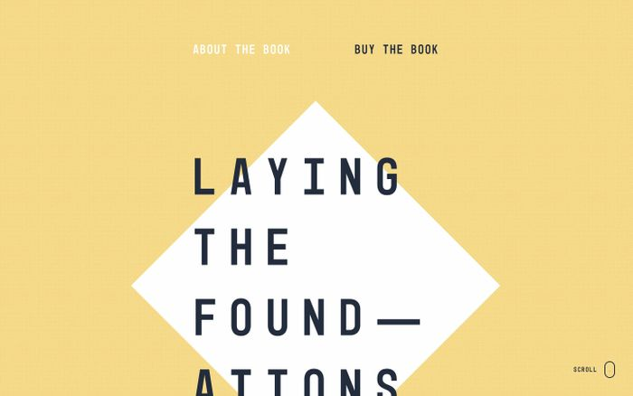 Screenshot of Laying the Foundations — A Book About Design Systems
