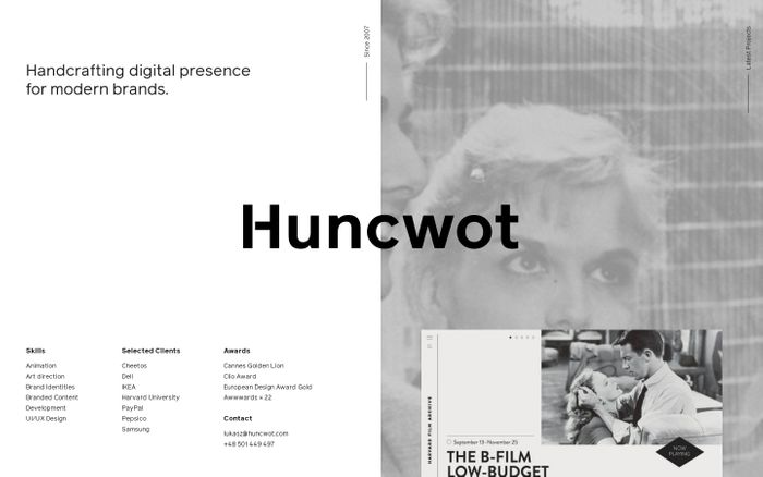 Screenshot of Huncwot