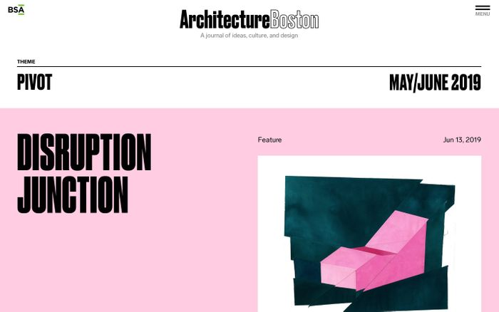 Screenshot of Boston Society of Architects   A chapter of the American Institute of…