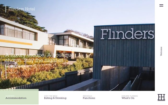 Screenshot of  Flinders Hotel
