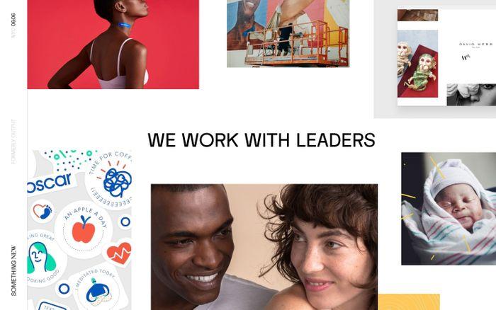 Screenshot of Something New - NYC website
