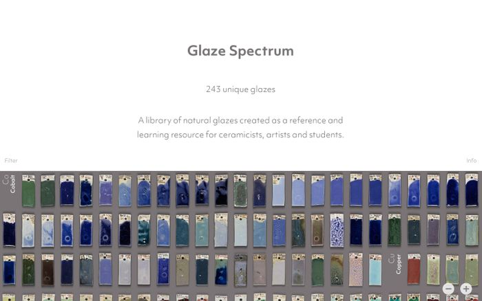 Screenshot of Glaze Spectrum