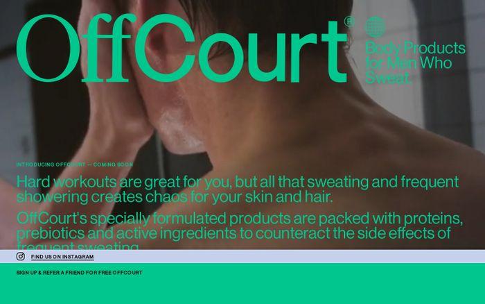 Screenshot of OffCourt