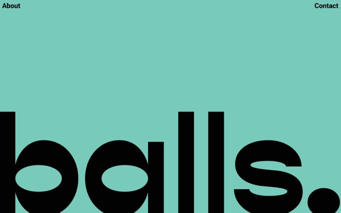 Screenshot of Balls | Meatballs & Beer Shop
