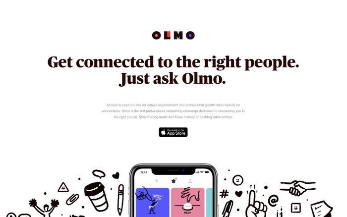 Screenshot of Olmo