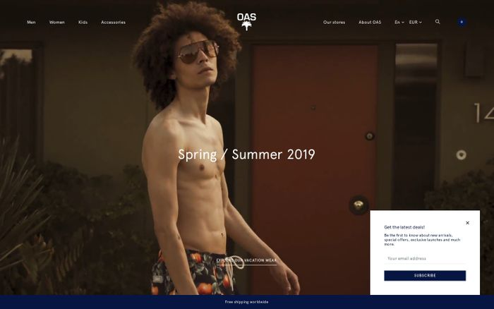 Screenshot of The Swedish Resort Brand