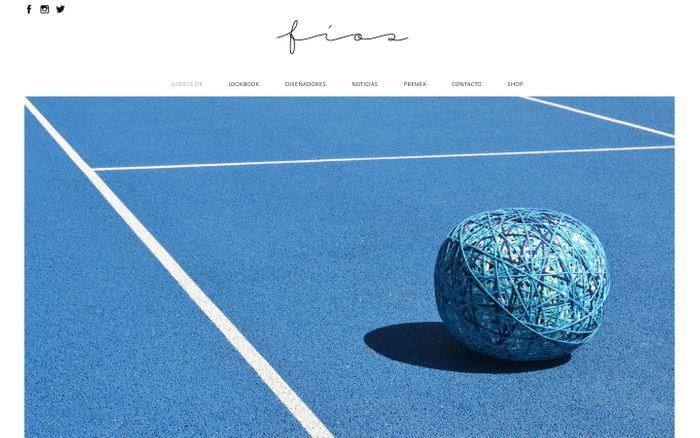 Screenshot of Fíos | Collection